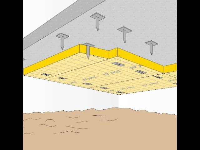 Koude tocht of trek over de vloer vloerisolatie of bodemisolatie